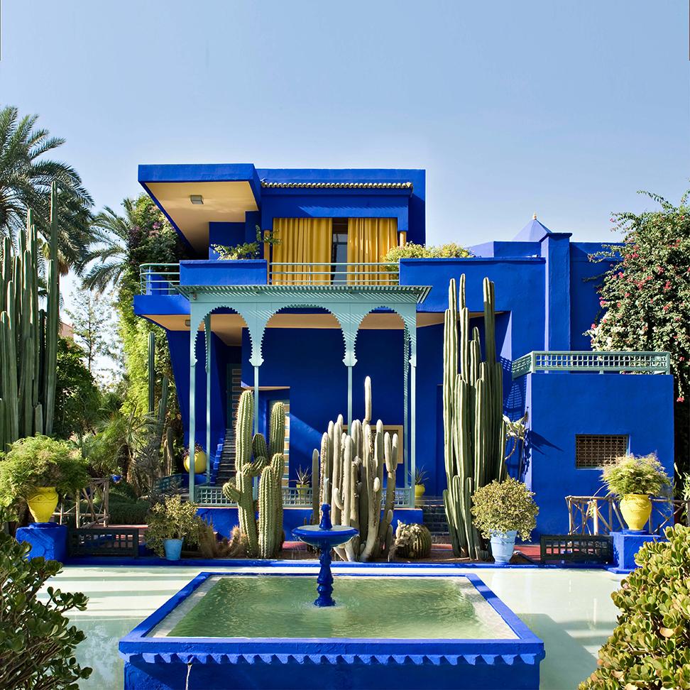 Jardin Majorelle, botanique, Marrakech, site officiel