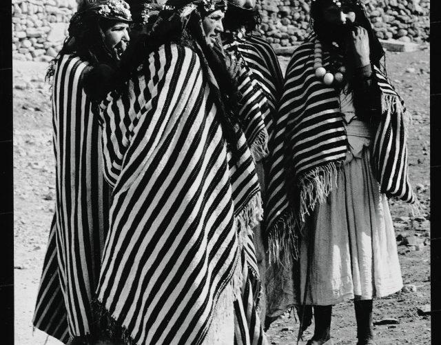 Femmes berbères au musée pierre berge des Art berbères